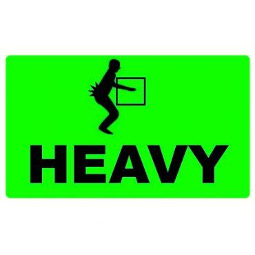 HEAVY Pallet Labels