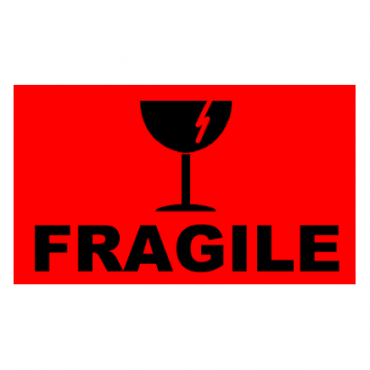 FRAGILE Pallet Labels