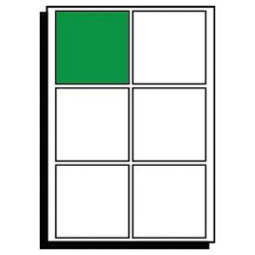 SR-A3 Diecut Labels – 130mm x 130mm Square