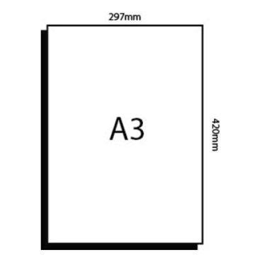 A3 Digital Sheet – 297mm x 420mm
