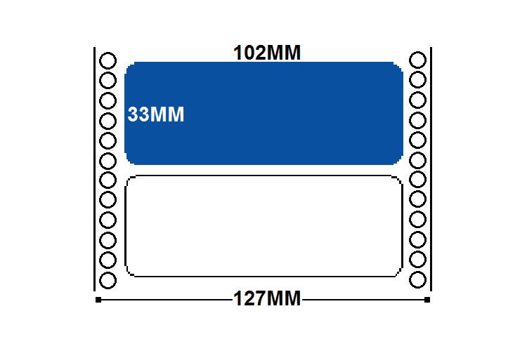 102mm x 37mm – 10,000 per box