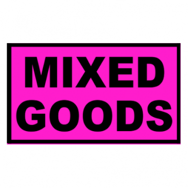 MIXED GOODS Pallet Labels