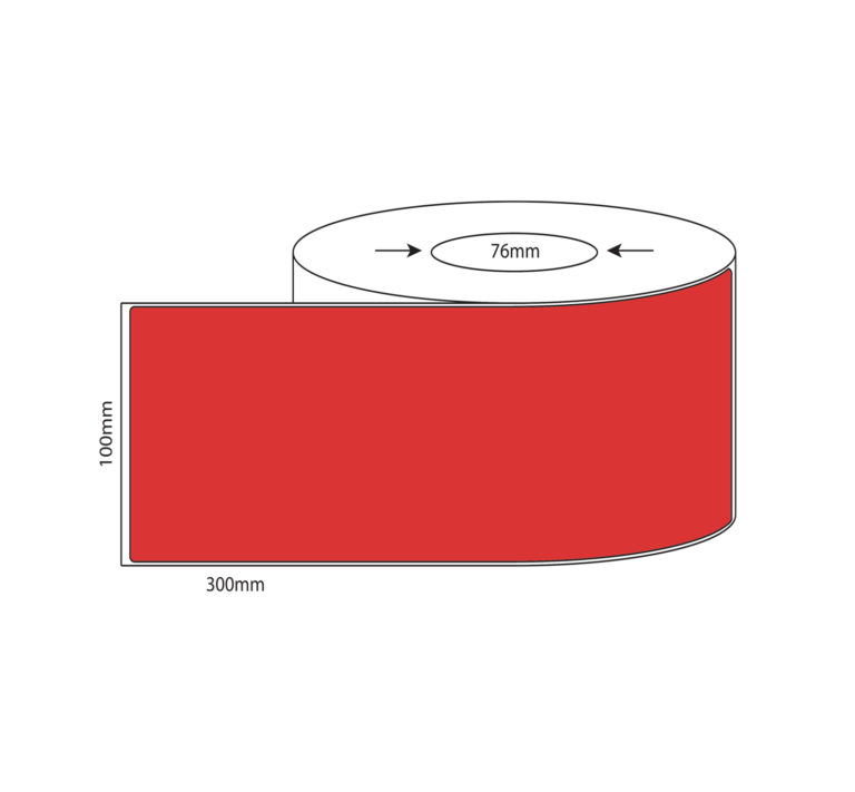 100mm x 300mm – Thermal Direct & Thermal Transfer