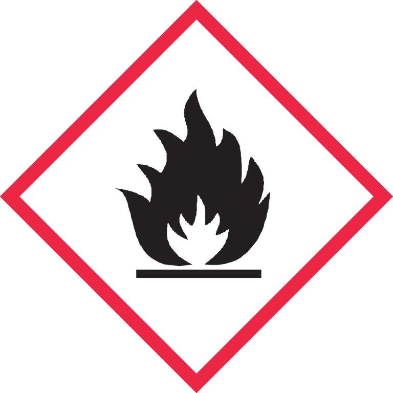ghs flame label online labels