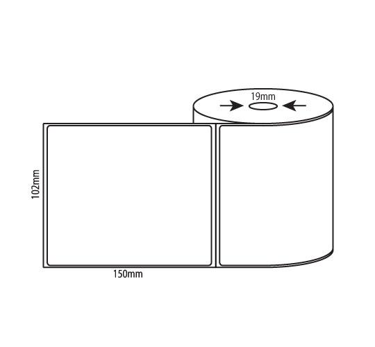 Mobile Printer Labels – 102mm x 150mm